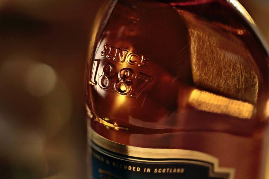 Whiskey Flasche